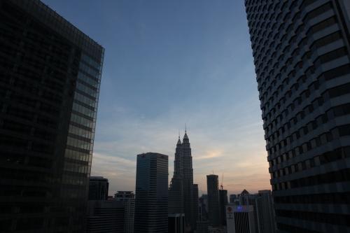 View from Doubletree Hilton, Kuala Lumpur